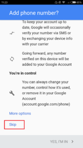 akun baru google