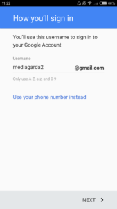 bagaimana membuat akun google